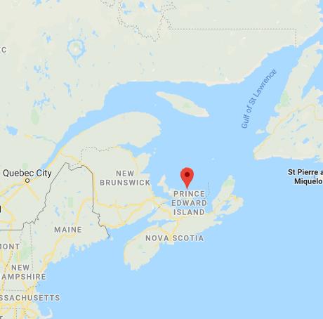 Map prince-edward-island