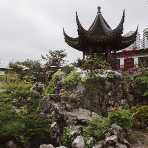 Sun Yat Sen Gardens in Vancouver's Chinatown