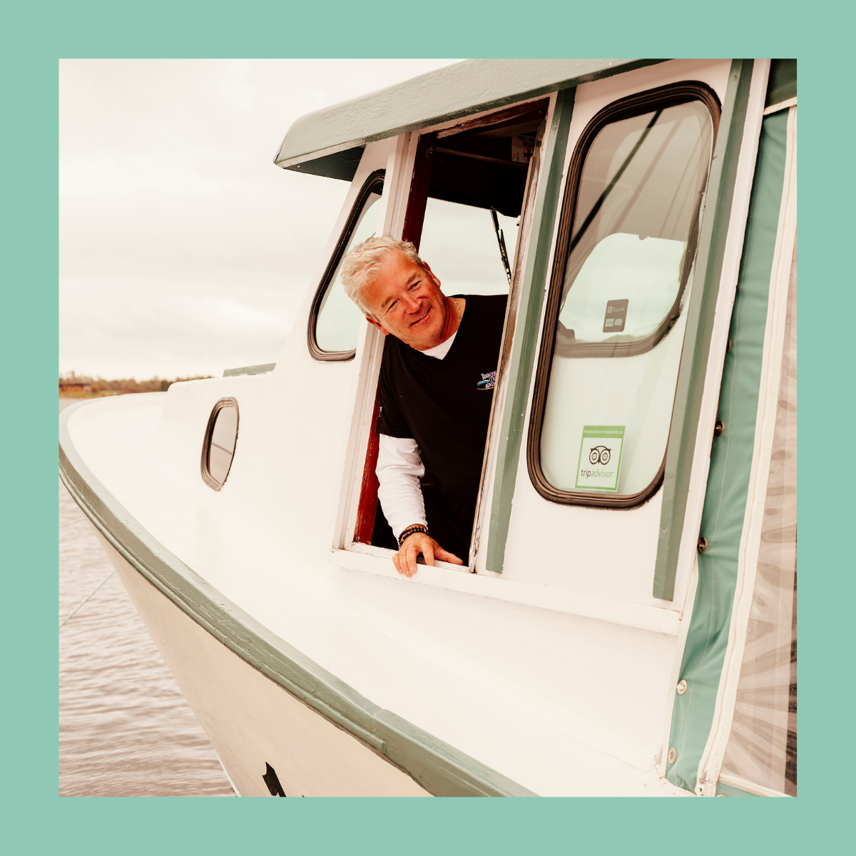 Captain Perry Gotell  Owner, Operator & Captain at Tranquility Cove Adventures Georgetown, Prince Edward Island