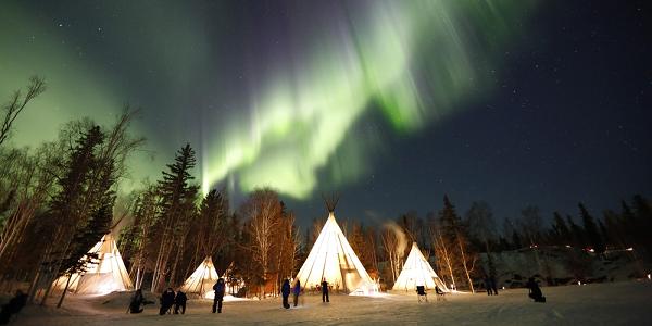 Aurora Village, Yellowknife, Northwest Territories - credit: Aurora Village