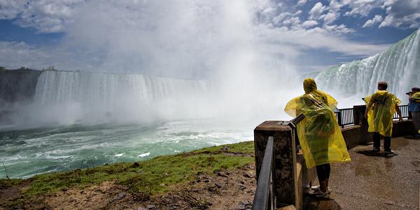 Journey Behind the Falls, Niagara Falls, Ontario - credit: Niagara Parks Commission