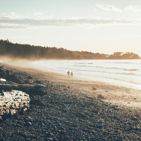 West coast beach walk