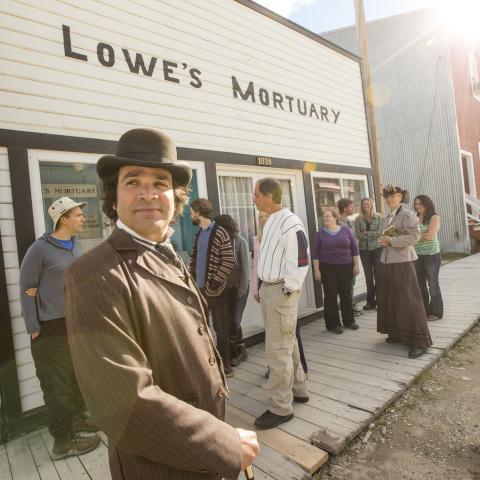 Lieux historiques nationaux du Klondike