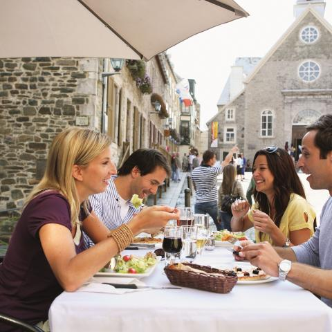Dining in Quebec City