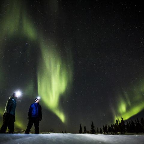Eagle Plains Yukon Northern Lights