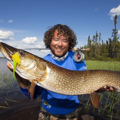 Fishing Saskatchewan