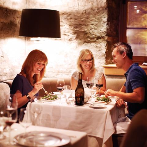 Panache Restaurant, Quebec City - credit: Canadian Tourism Commission