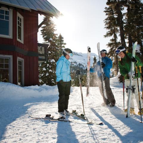 Options d'hébergement uniques dans les stations de ski de la Colombie-Britannique - Whistler Blackcomb