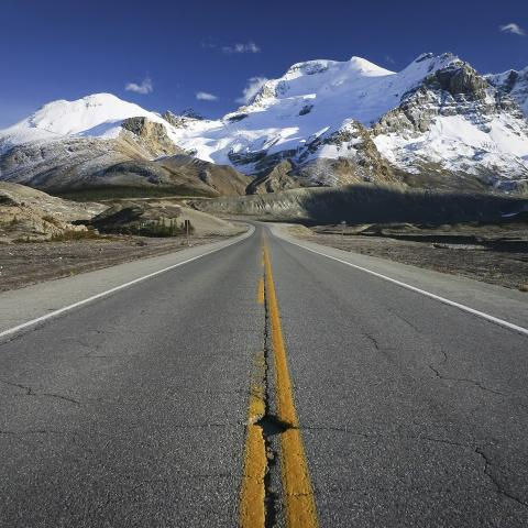 Road trip through Jasper National Park