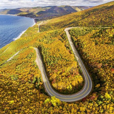 Cabot Trail Fall Colors, Cape Breton Island
