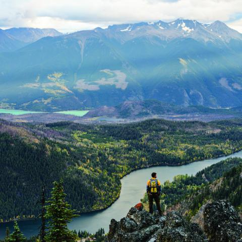 Tyax Wilderness Resort in Gold Bridge, BC