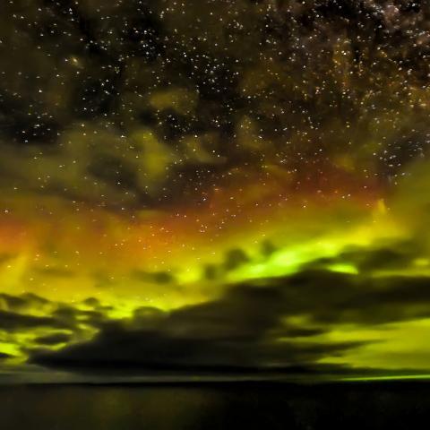 Disfrute los colores de la tierra en Nunavut