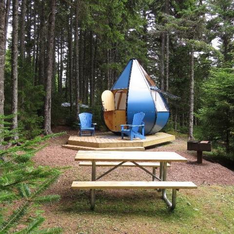 Les lieux d'hébergement les plus sympas du Nouveau-Brunswick