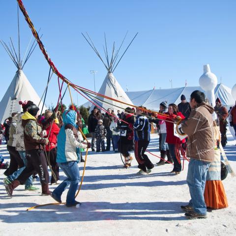 Festival du Voyageur, Winnipeg, Manitoba