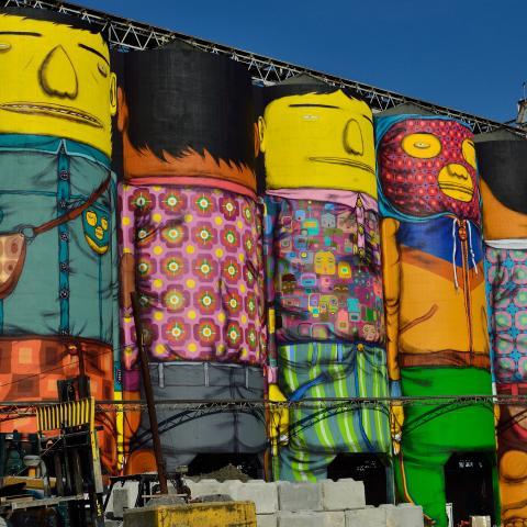 Giants by OSGEMEOS Art