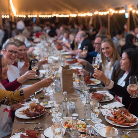 Lobster feast, Halifax, Brett Ryan
