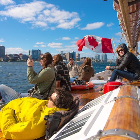 Halifax Harbour ship tour