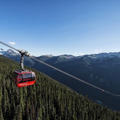 BC Peak 2 Peak Gondola Whistler