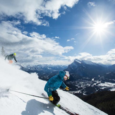 Lake Louise ski and snowboard