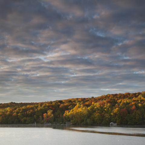 Autumn in Huntsville, Ontario