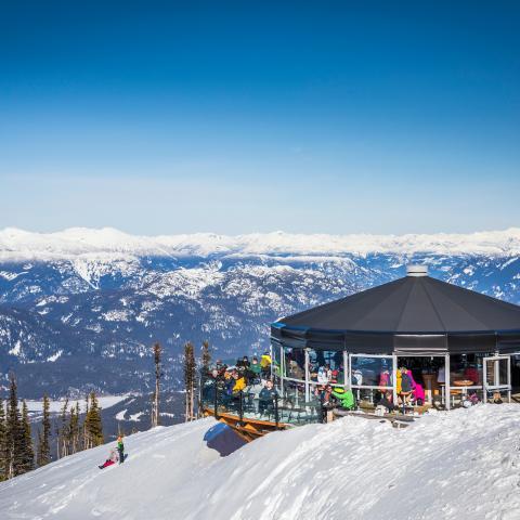 Whistler Spring Skiing Patio