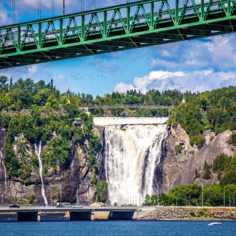 Montmorency Falls - Quebec by Road Trip