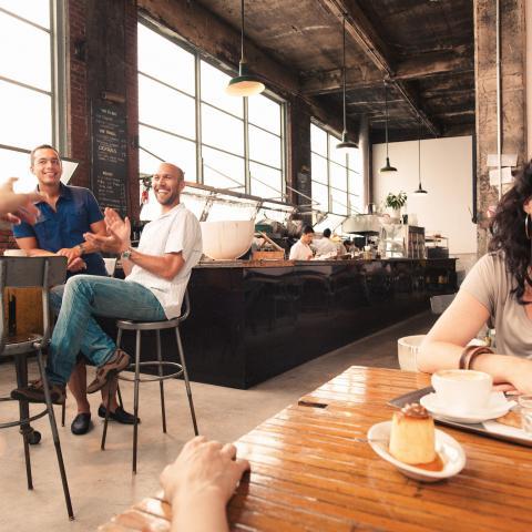 Restaurantes en el barrio Mile End
