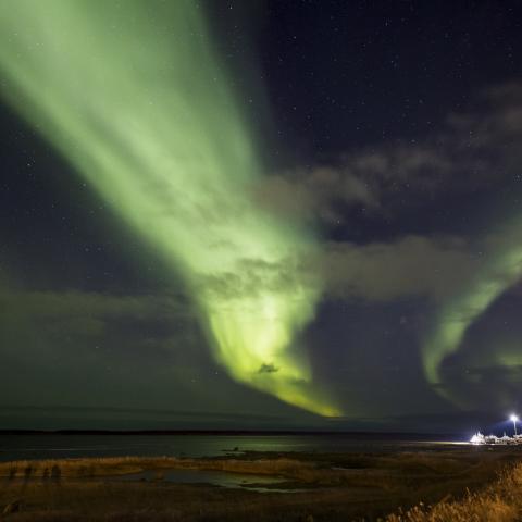 Northern Lights in Manitoba's North