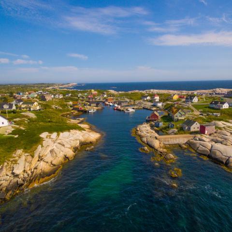 Faro Peggy's Cove - Nuevo Escocia