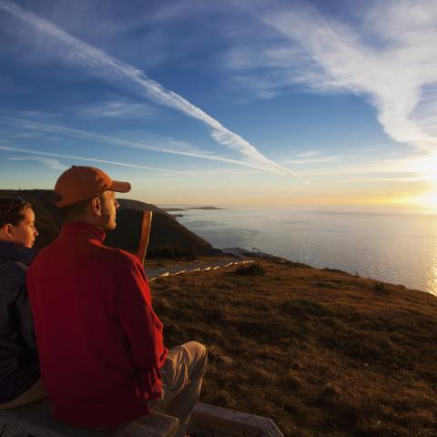 Skyline Sunset Tour at Cape Breton Highlands National Park