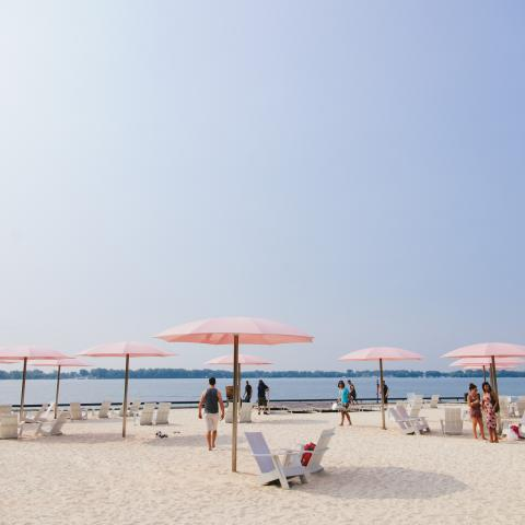 Toronto's Sugar Beach