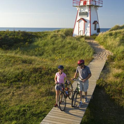 Covehead Harbour Lighthouse, Prince Edward Island National Park