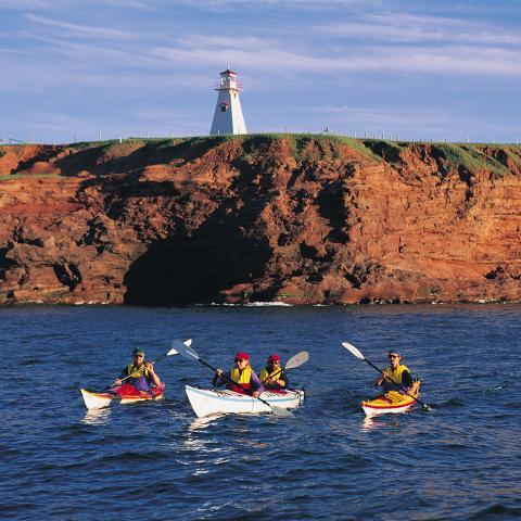 Cape Tryon Lighthouse, Cousins Shore, PEI