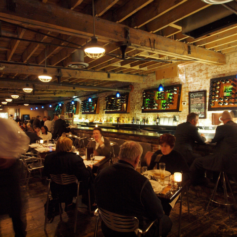 Pure Spirits Oyster Bar, Distillery District, Toronto
