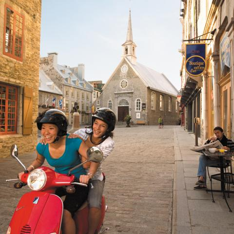 Touring Old Quebec