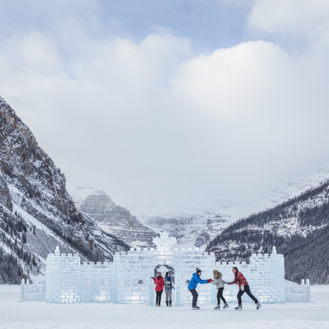 Canada's Top Outdoor Ice Skating Rinks