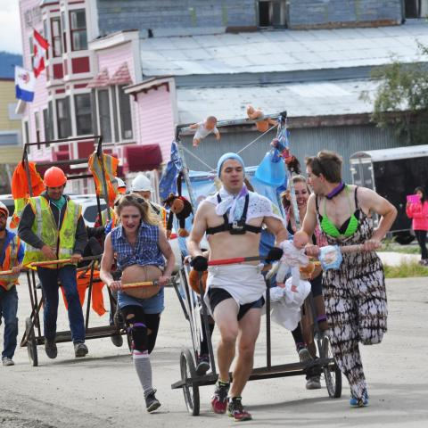 Great Klondike Outhouse Race