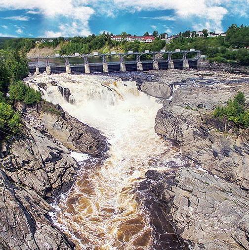 Grand Falls Gorge, Grand Falls