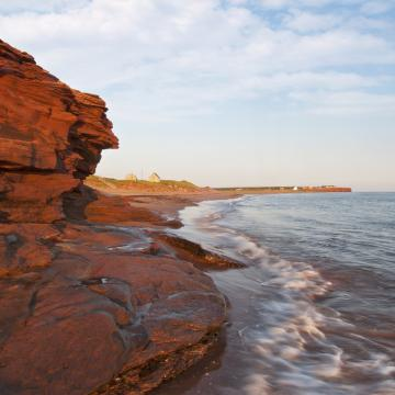 Prince Edward Islands Red Cliffs