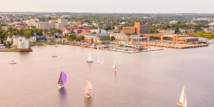 waterfront in charlottetown
